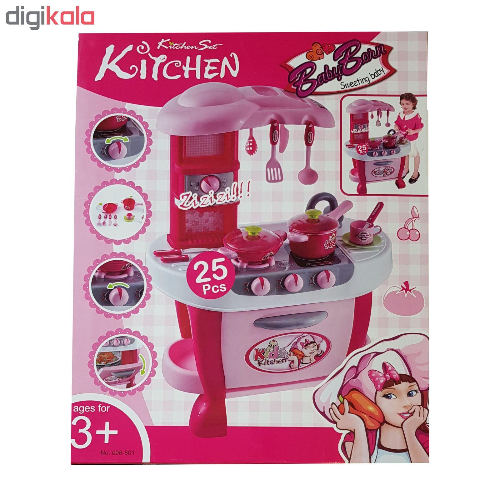 اسباب بازی آشپزخانه مدل 801-008