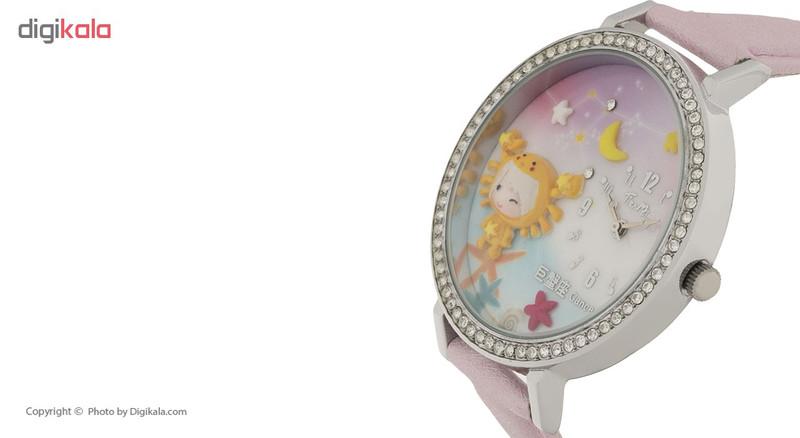 ساعت مچی عقربه ای دخترانه مدل TM-001-4