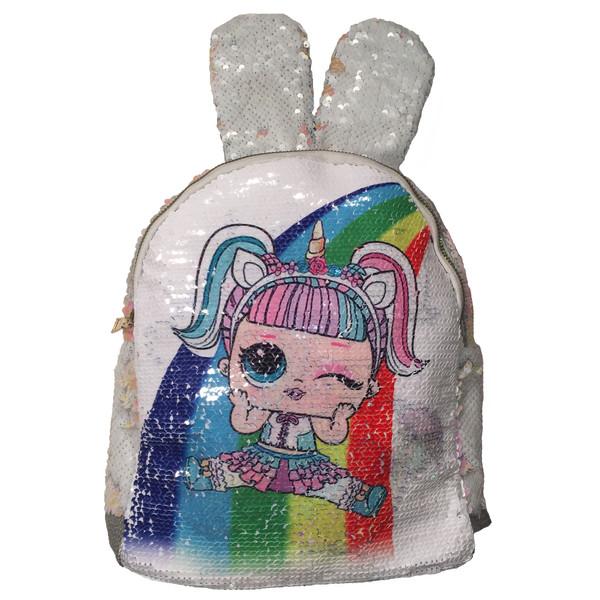 کوله پشتی دخترانه طرح خرگوش کد adl1