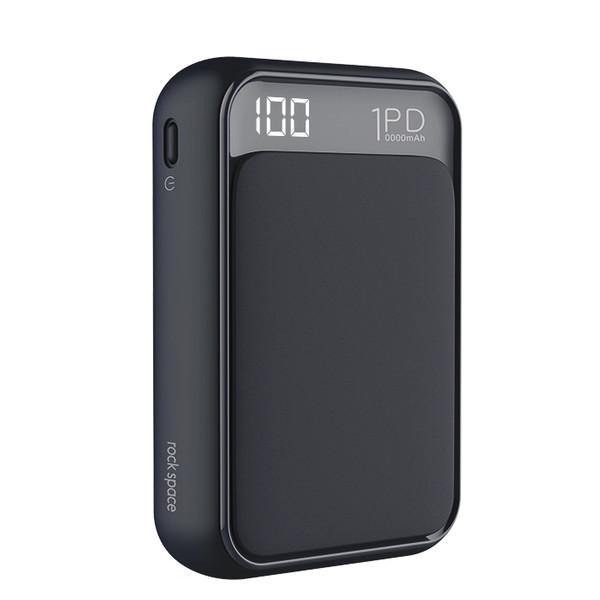 شارژر همراه راک اسپیس مدل PD65 ظرفیت 10000میلی آمپر ساعت