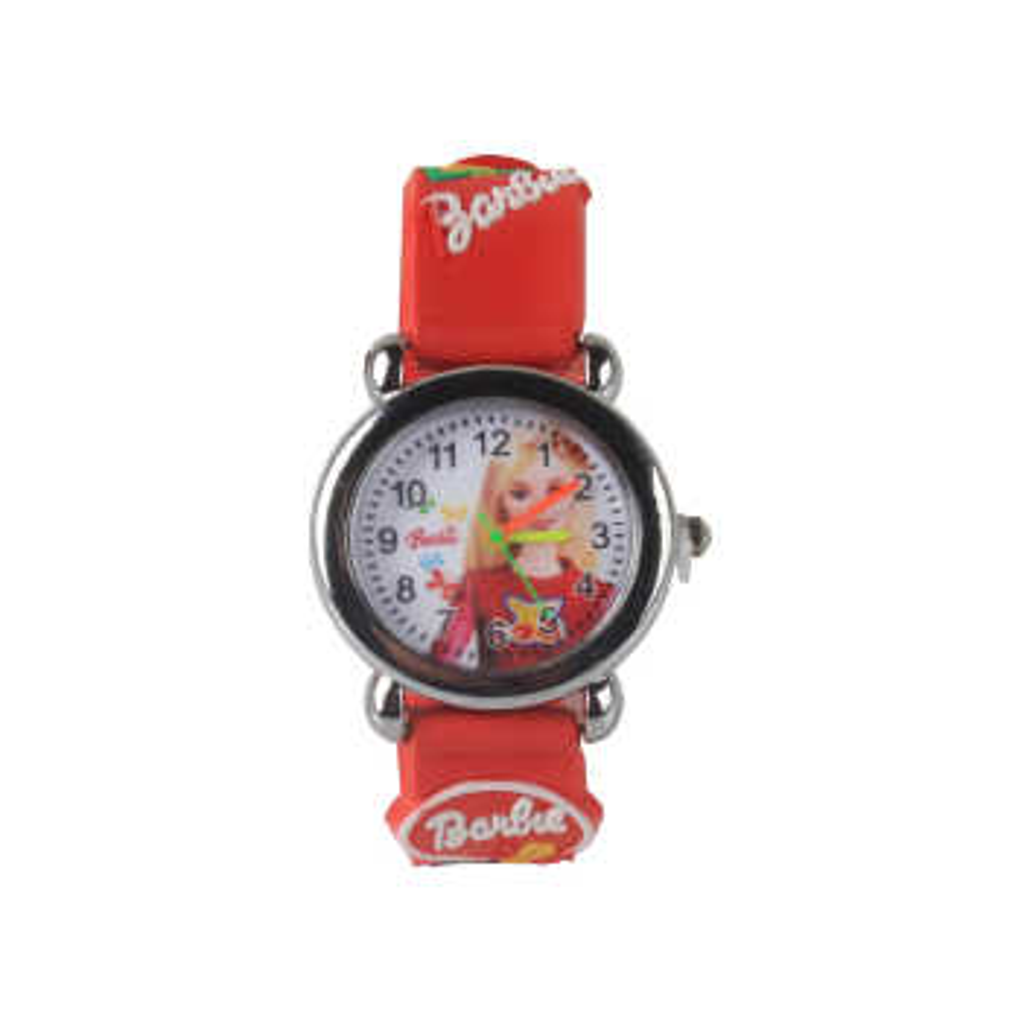 ساعت مچی عقربه ای بچگانه طرح باربی