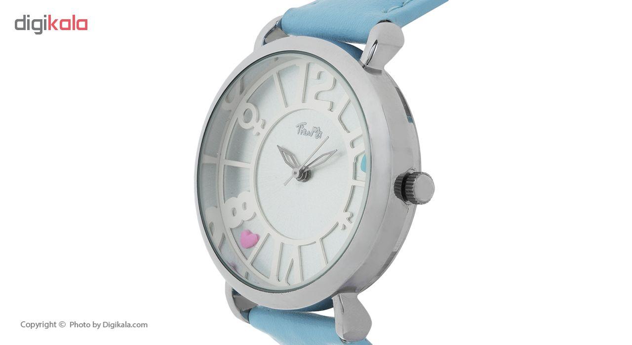 ساعت مچی عقربه ای دخترانه مدل TM-038