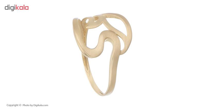 انگشتر طلا 18 عیار زنانه کانیار گالری کد AM3