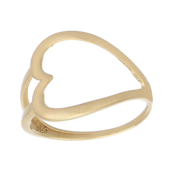 انگشتر طلا 18 عیار زنانه کانیار گالری کد AM4