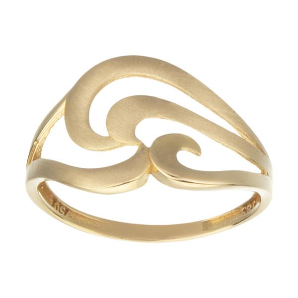 انگشتر طلا 18 عیار زنانه کانیار گالری کد AM7