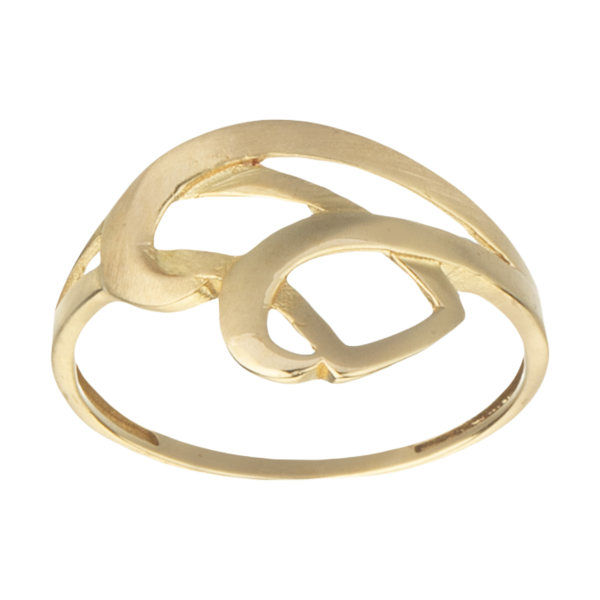 انگشتر طلا 18 عیار زنانه کانیار گالری کد AM8