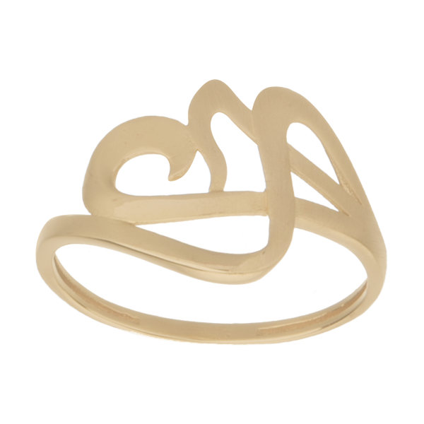 انگشتر طلا 18 عیار زنانه کانیار گالری کد AM9