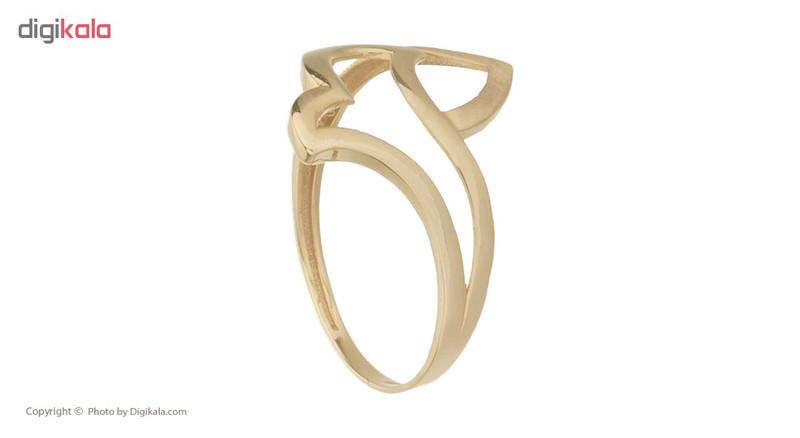 انگشتر طلا 18 عیار زنانه کانیار گالری کد AM10