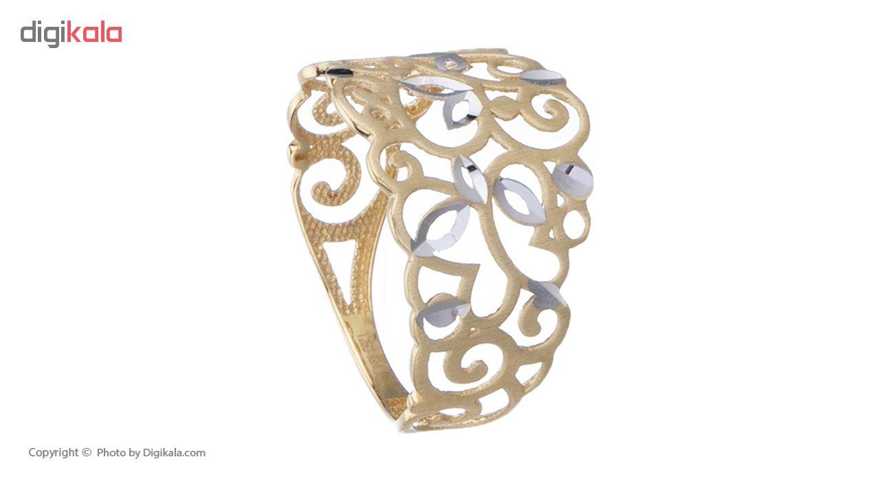 انگشتر طلا 18 عیار زنانه کانیار گالری کد AM15