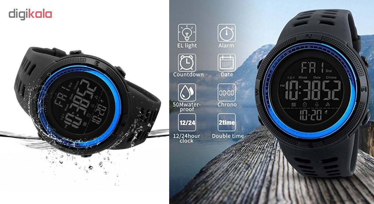 کد تخفیف                                      ساعت مچی دیجیتال اسکمی مدل A-1251