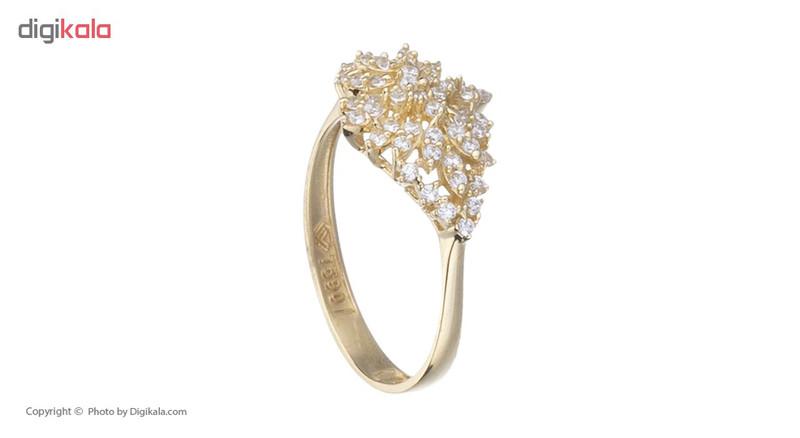 انگشتر طلا 18 عیار زنانه کانیار گالری کد AM24