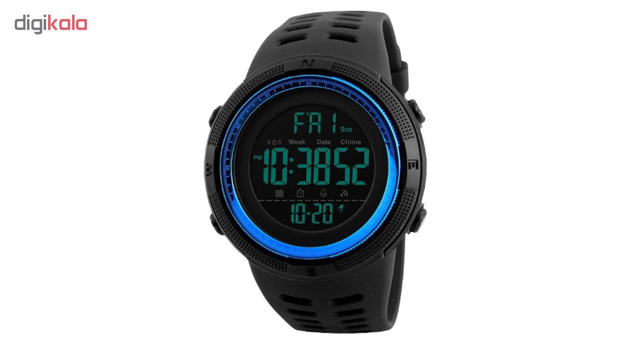 ساعت مچی دیجیتال اسکمی مدل A-1251             قیمت