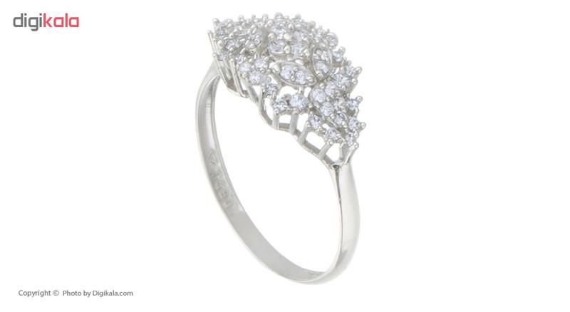 انگشتر طلا 18 عیار زنانه کانیار گالری کد AM17
