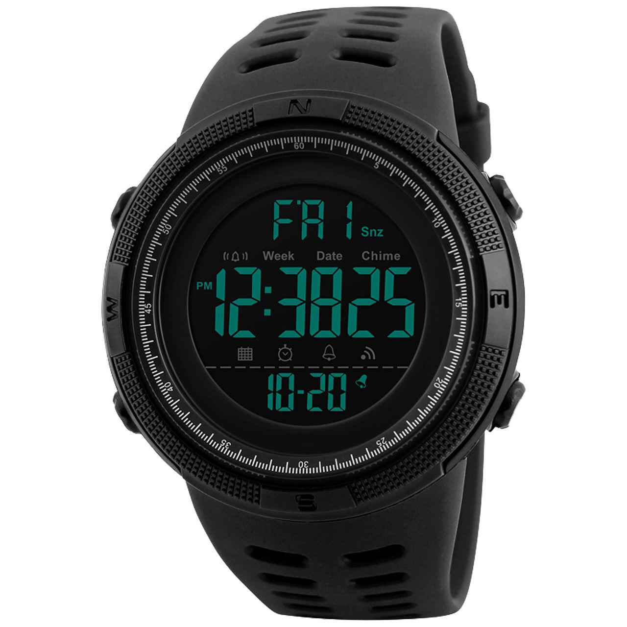 ساعت مچی دیجیتال اسکمی مدل A-1251 -  - 2