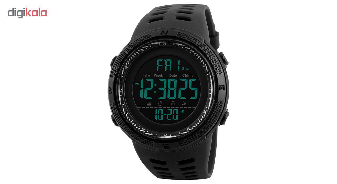 ساعت مچی دیجیتال اسکمی مدل A-1251 -  - 3