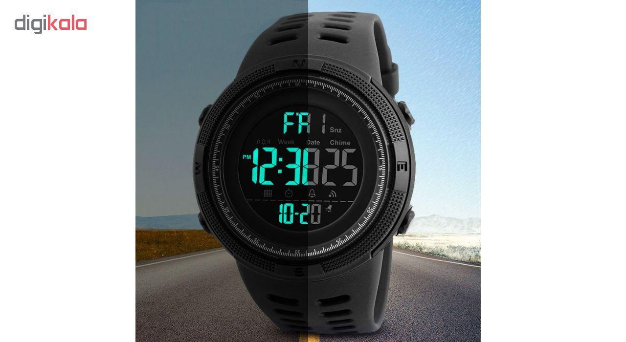 ساعت مچی دیجیتال اسکمی مدل A-1251 -  - 7