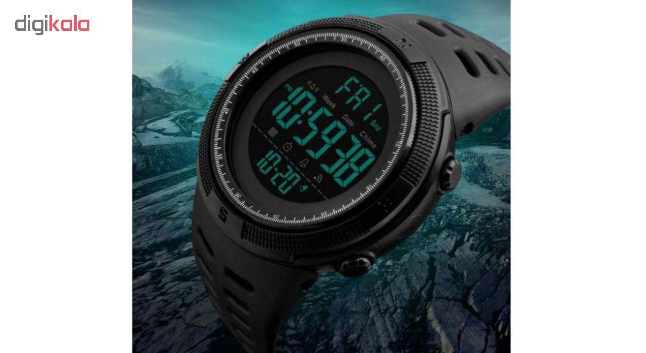 ساعت مچی دیجیتال اسکمی مدل A-1251 -  - 5