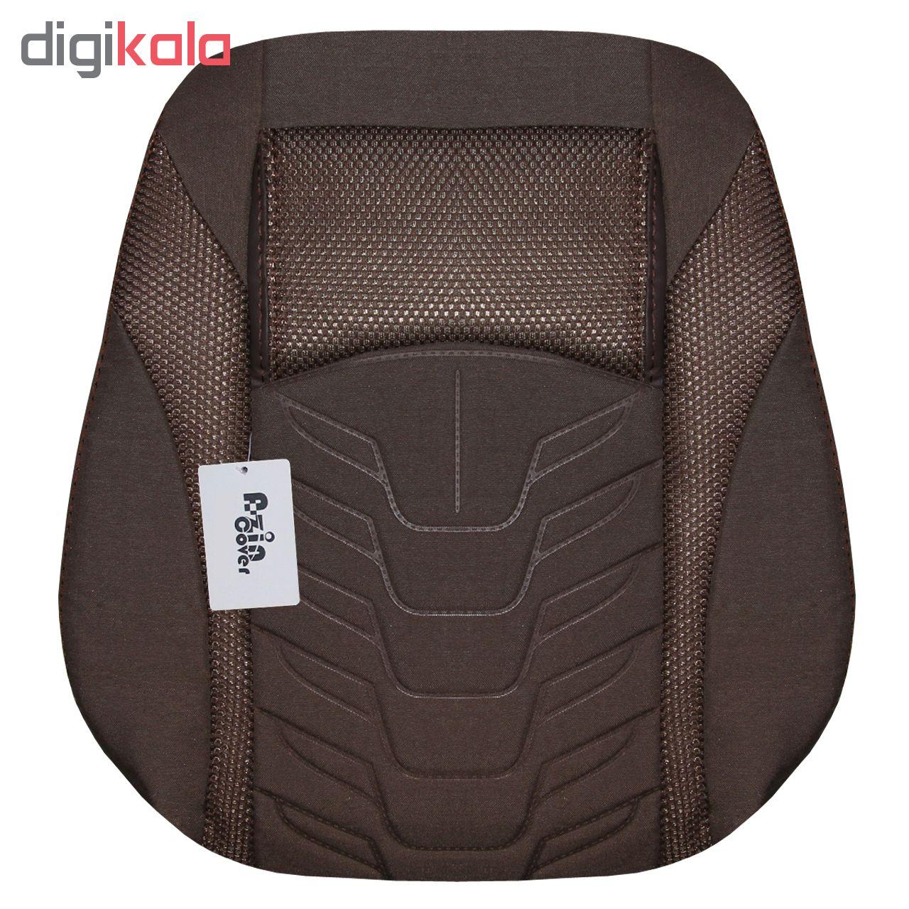 روکش صندلی خودرو آذین کاور مدل AZ014 مناسب برای سمند