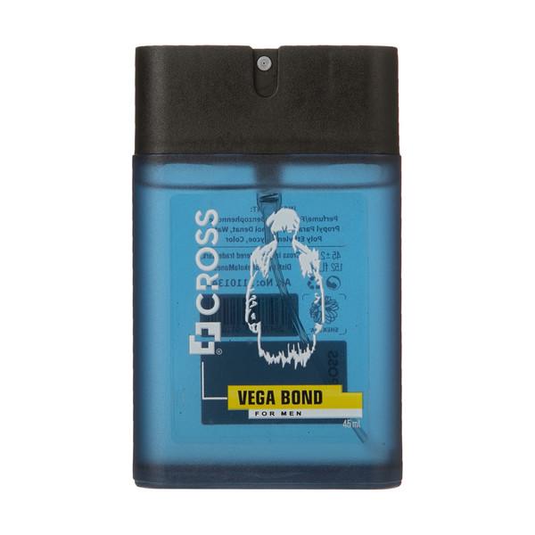 عطر جیبی مردانه کراس مدل  Vega Bond حجم 45 میلی لیتر