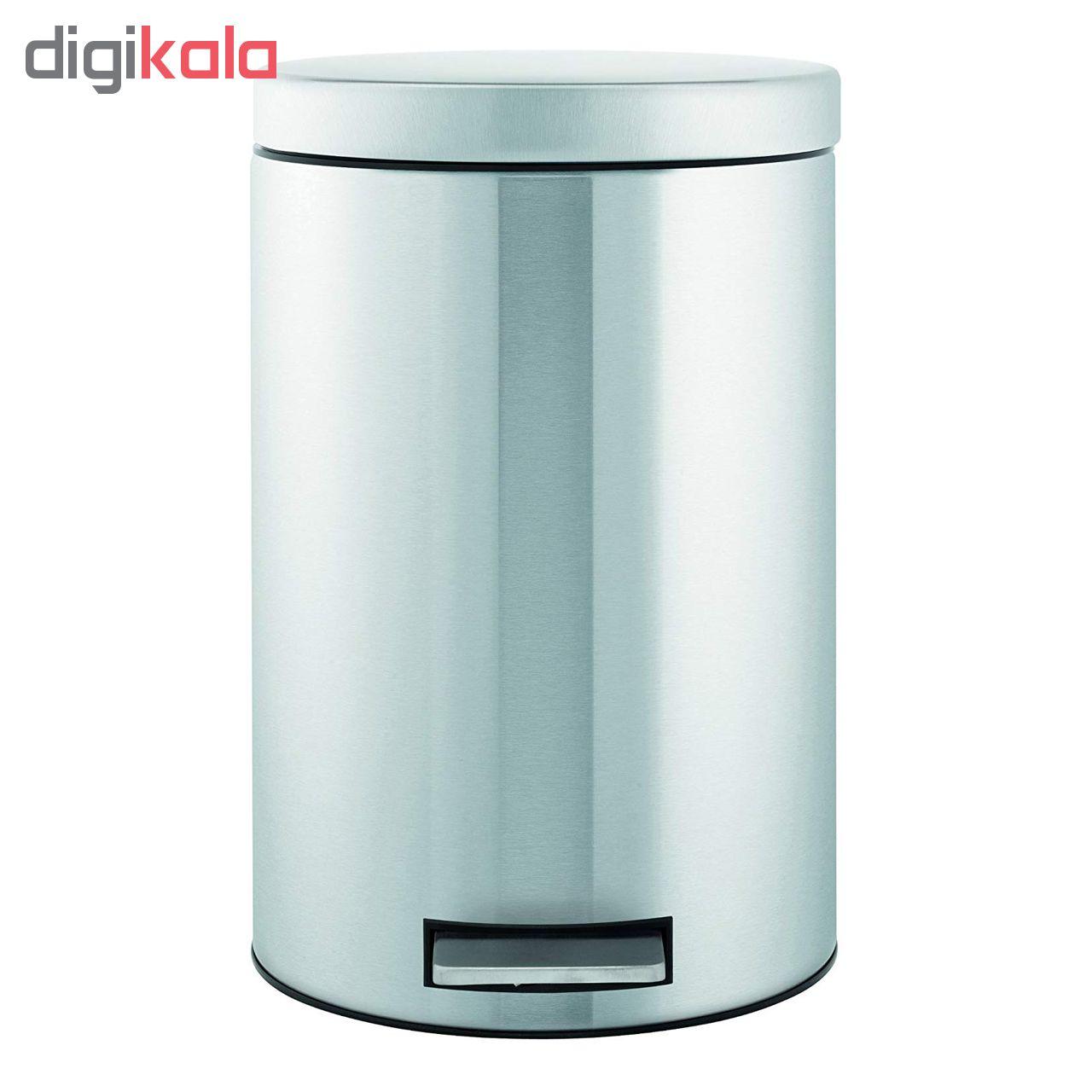 سطل زباله برابانتیا کد 479526 ظرفیت 12 لیتر main 1 3