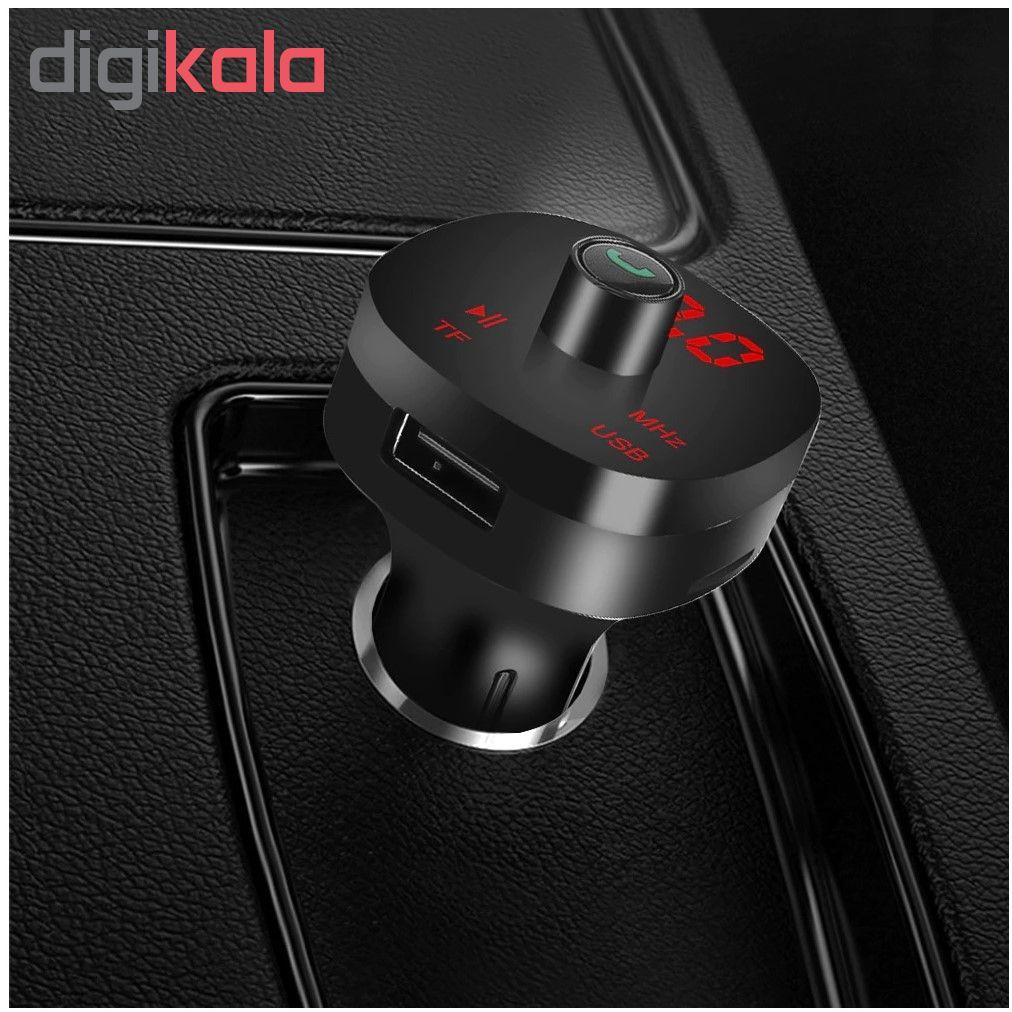 پخش کننده اف ام بلوتوثی خودرو مدل K01