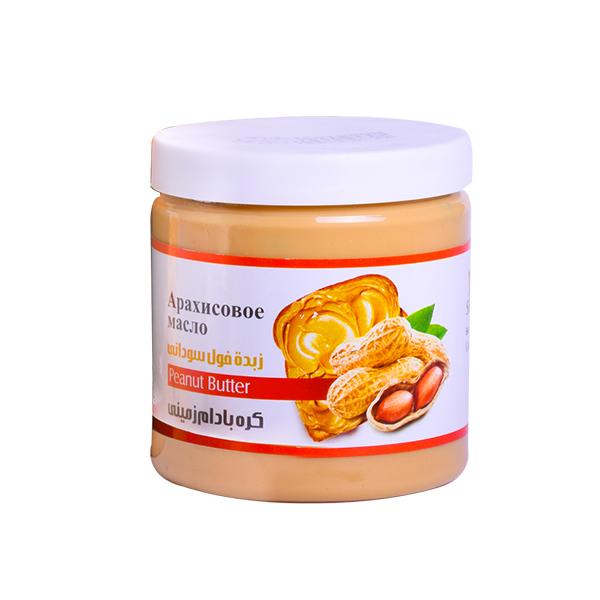 کره بادام زمینی ساده شیررضا -300 گرم