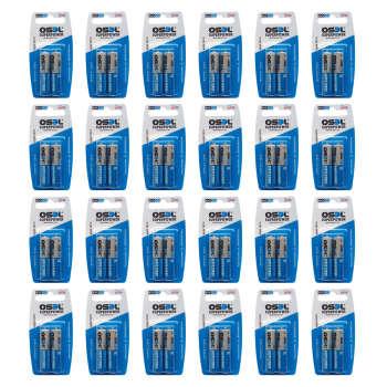 باتری نیم قلمی اوسل مدل Super Power بسته 48 عددی