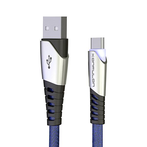 کابل تبدیل USB به USB-C کانفلون مدل DC18 طول 1 متر