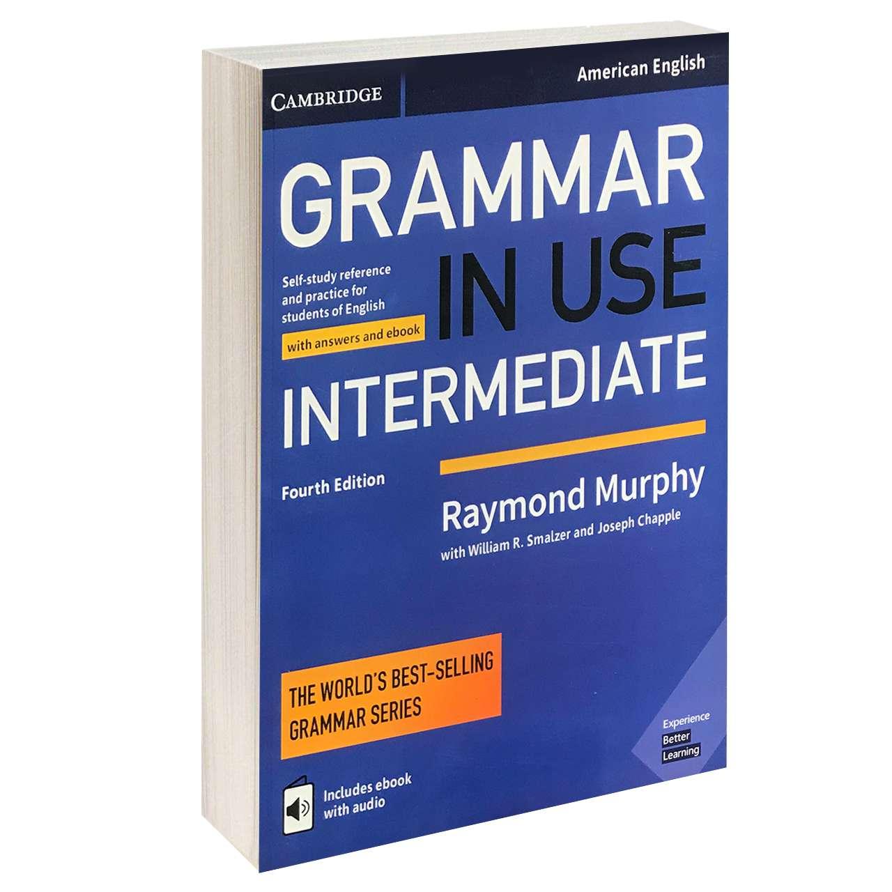 خرید                      کتاب GRAMMER IN USE INTERMEDIATE اثر جمعی از نویسندگان انتشارات CAMBRIDGE