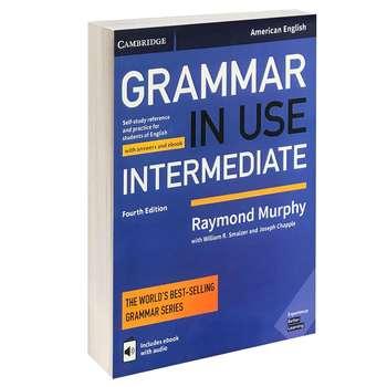 کتاب GRAMMER IN USE INTERMEDIATE اثر جمعی از نویسندگان انتشارات CAMBRIDGE