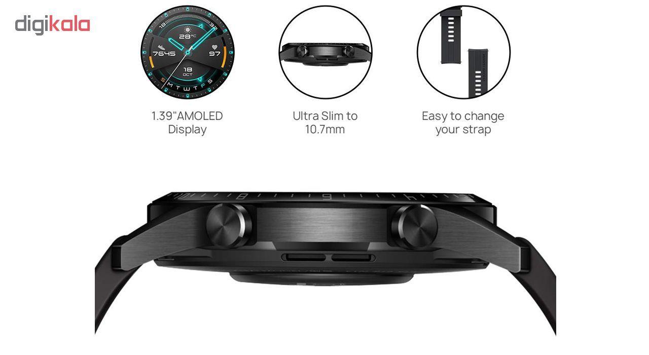 ساعت هوشمند هوآوی مدل WATCH GT 2 LTN-B19 46 mm main 1 4