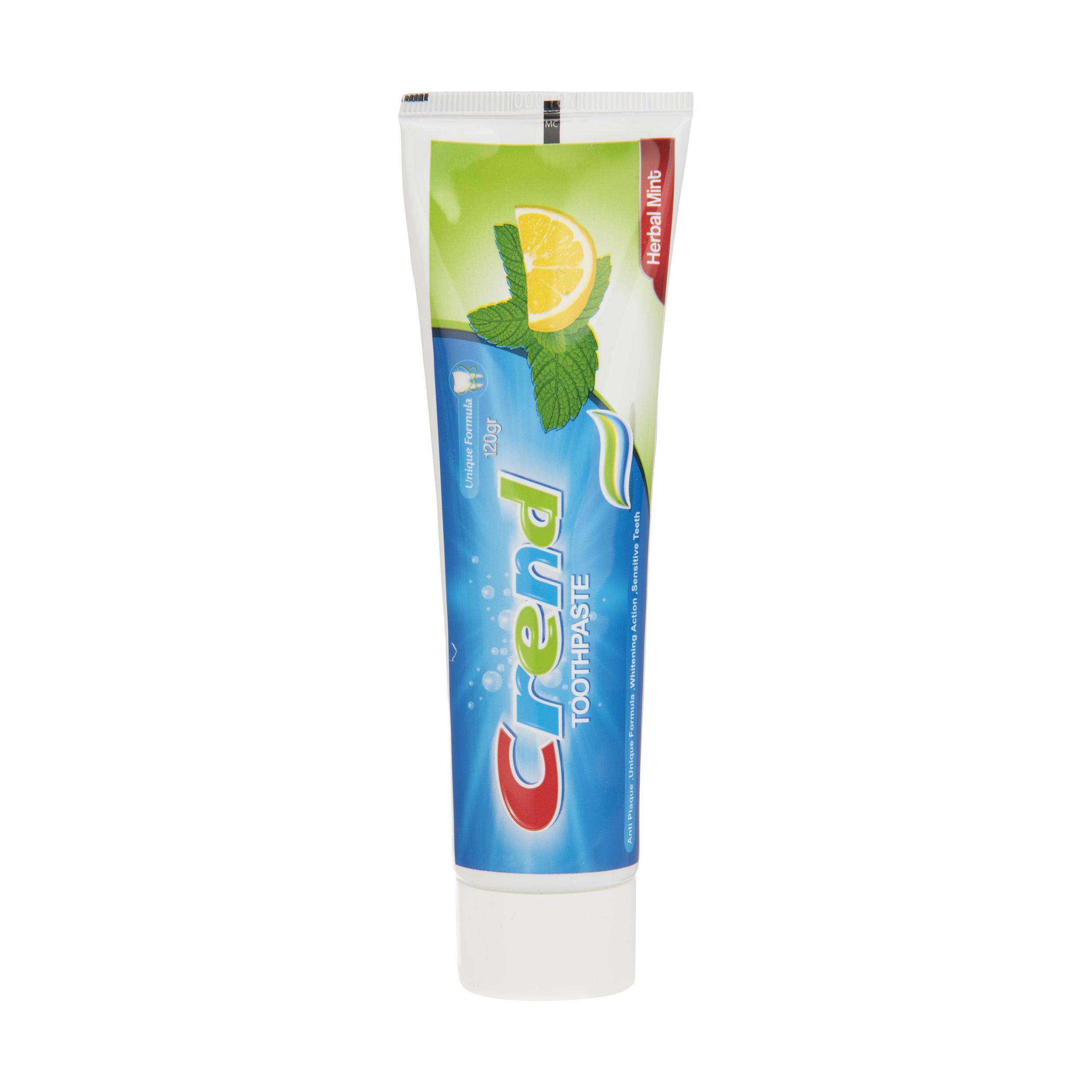 خرید                      خمیر دندان کرند مدل Lemon حجم 120 میلی لیتر