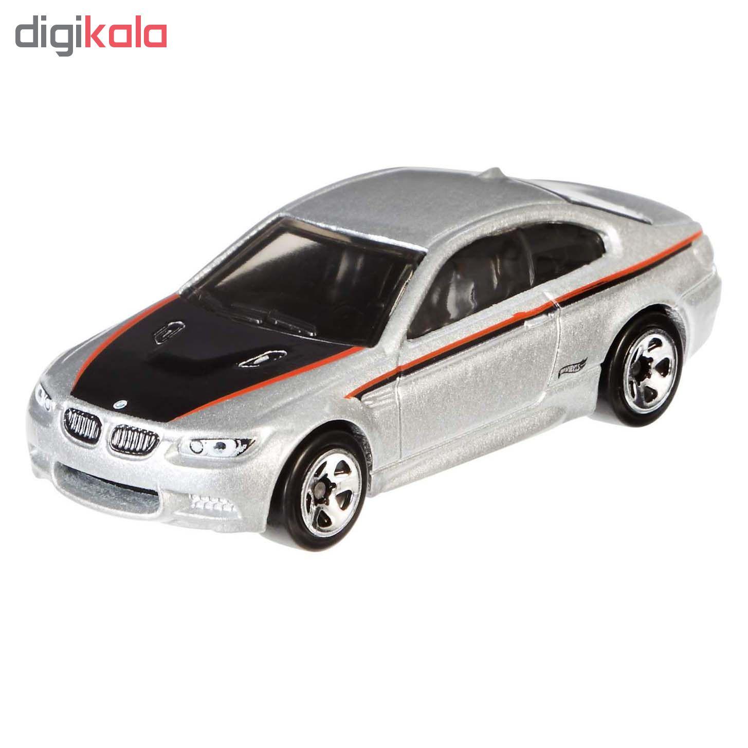 ماشین بازی هات وی مدل BMW M3 کد DJM79