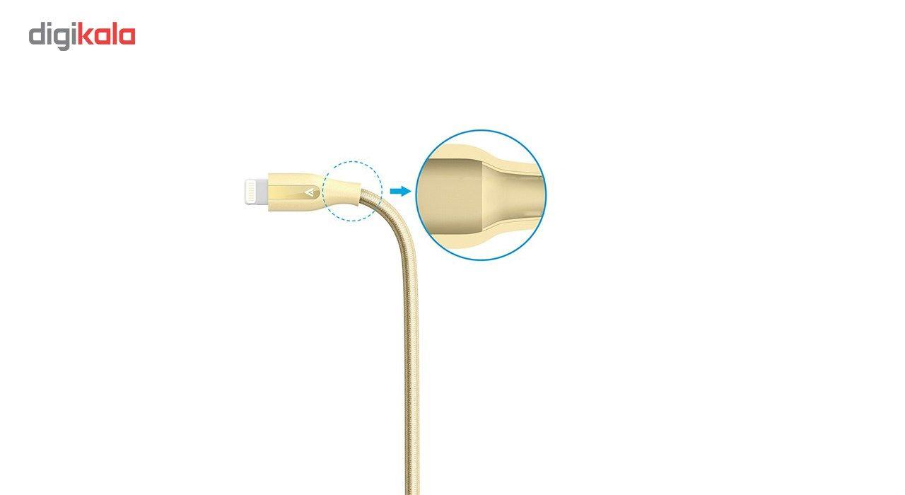 کابل تبدیل USB به لایتنینگ انکر مدل A8122 PowerLine Plus طول 1.8 متر به همراه محفظه نگهدارنده main 1 4