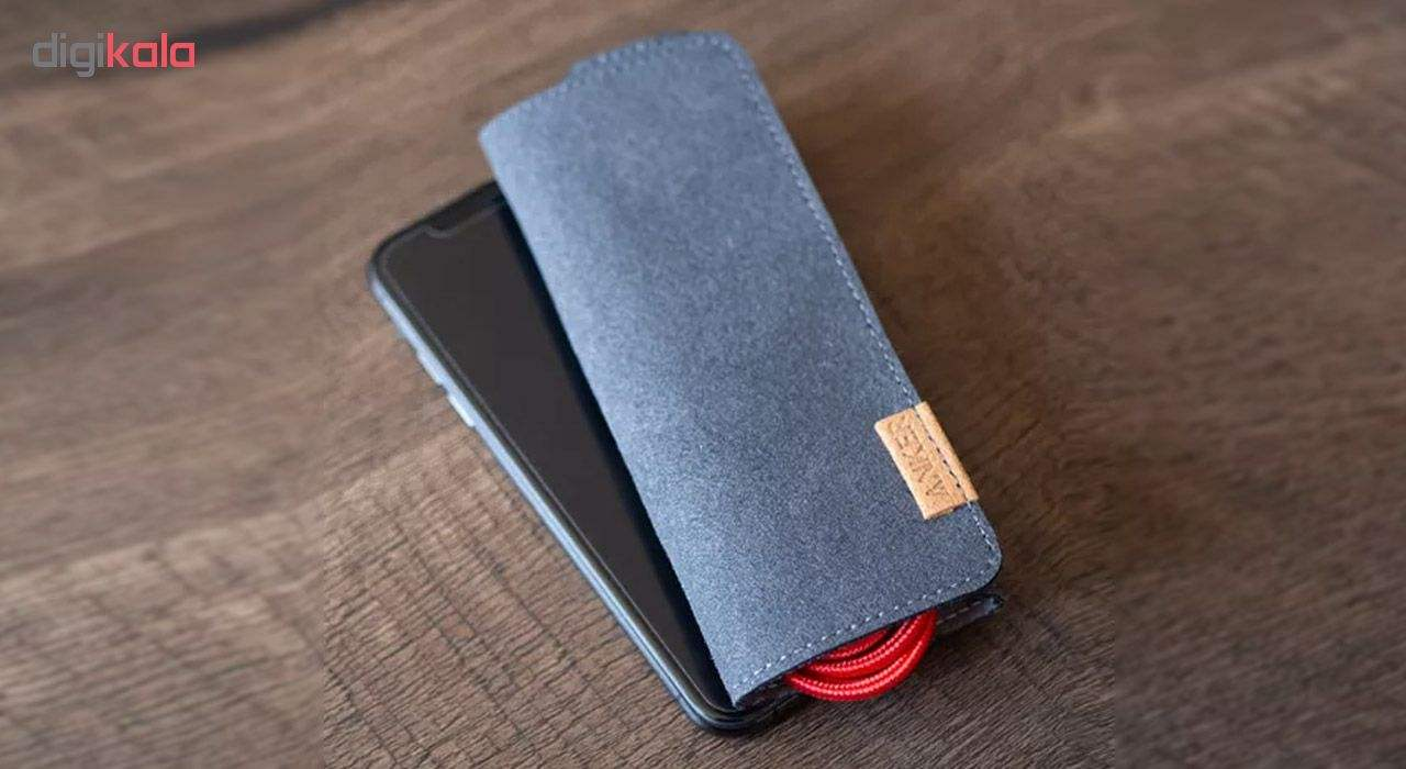 کابل تبدیل USB به لایتنینگ انکر مدل A8122 PowerLine Plus طول 1.8 متر به همراه محفظه نگهدارنده main 1 13