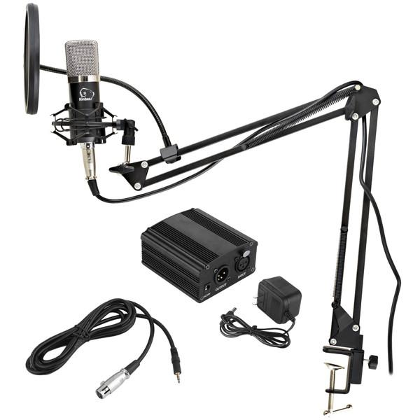 مجموعه تجهیزات ضبط صدا کینباس مدل BM800PLUS