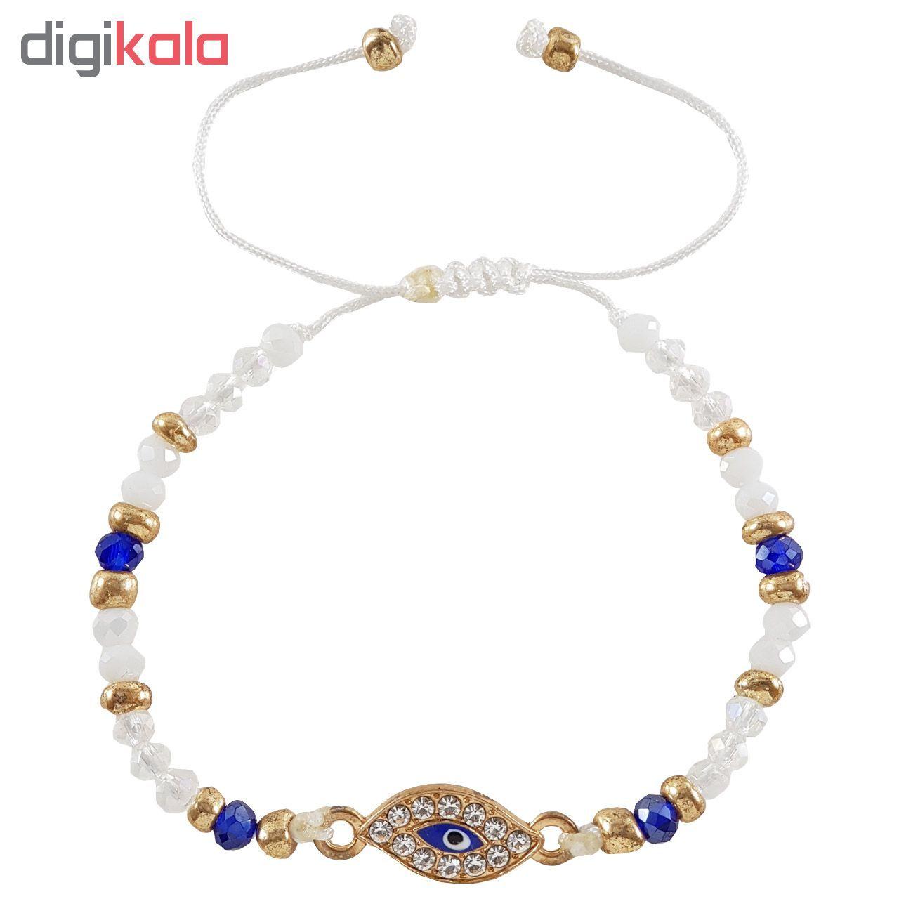 دستبند زنانه طرح چشم کد ASHY main 1 1