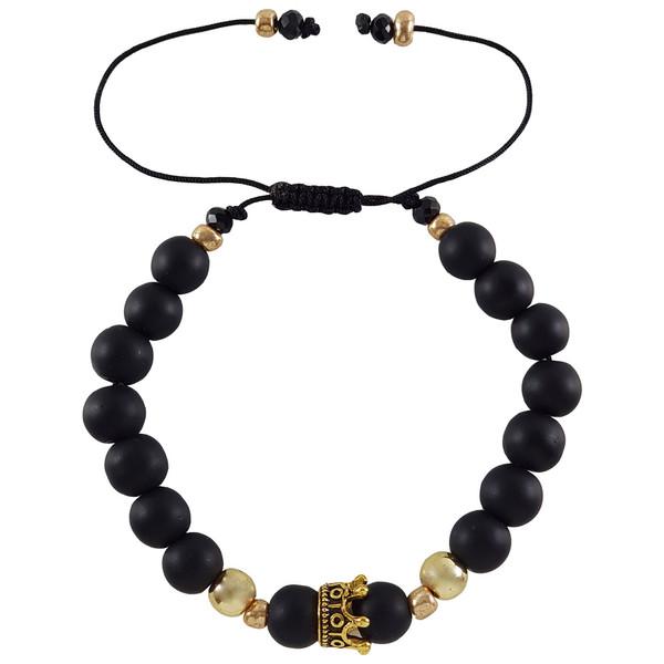 دستبند زنانه طرح تاج کد TTAA