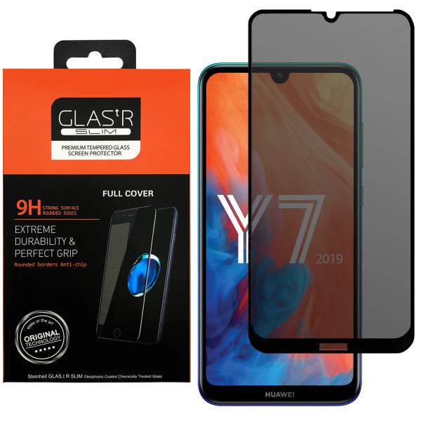 محافظ صفحه نمایش حریم شخصی مدل GLASTR مناسب برای گوشی موبایل هوآوی Y7 2019/Y7 Prime 2019