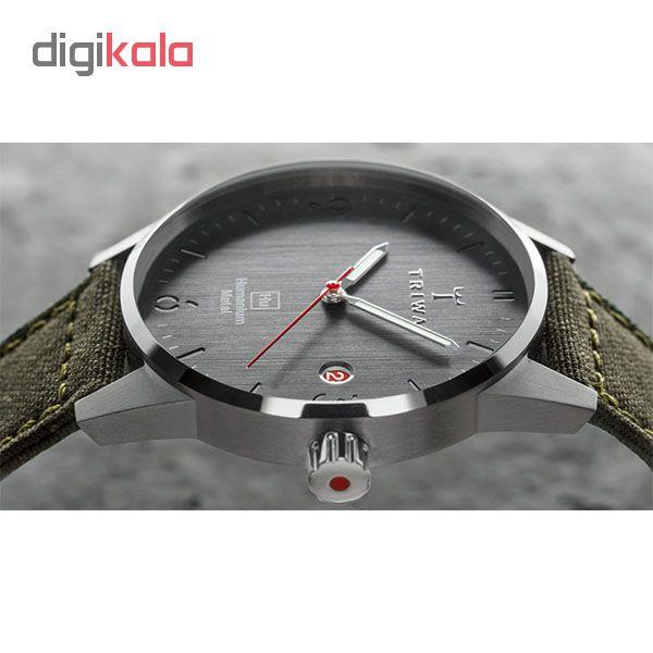 ساعت مچی عقربه ای تریوا مدل Hu39-D