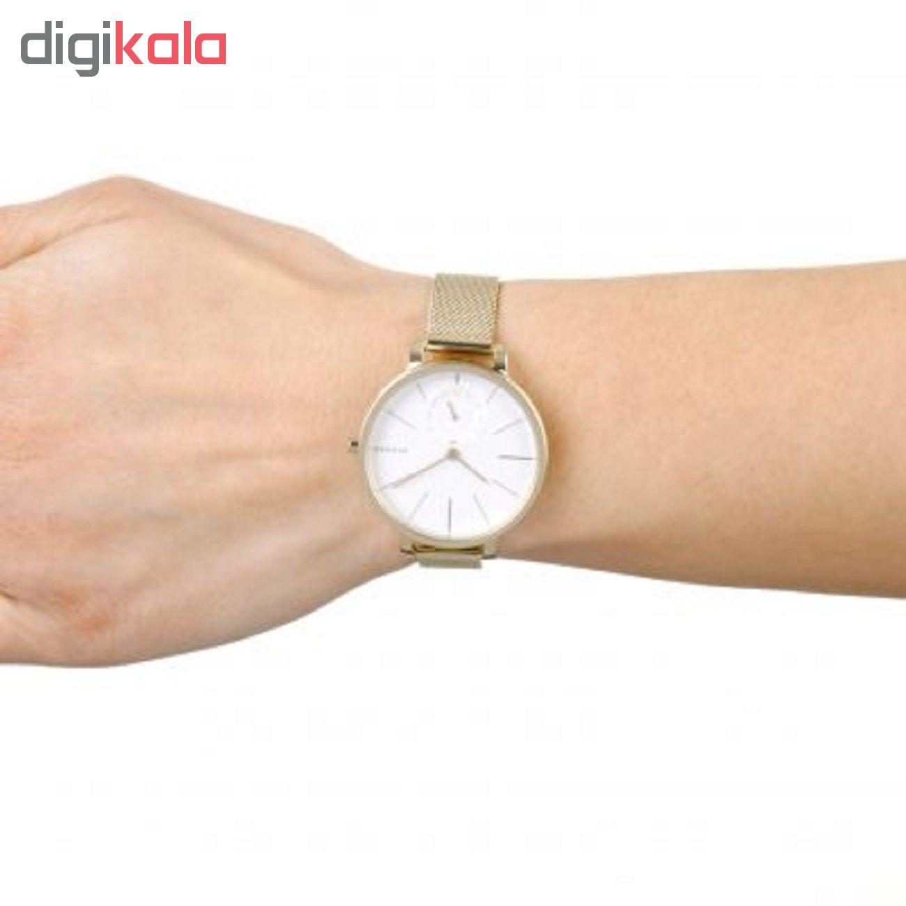 ساعت مچی عقربه ای زنانه اسکاژن دانمارک کد skw2436