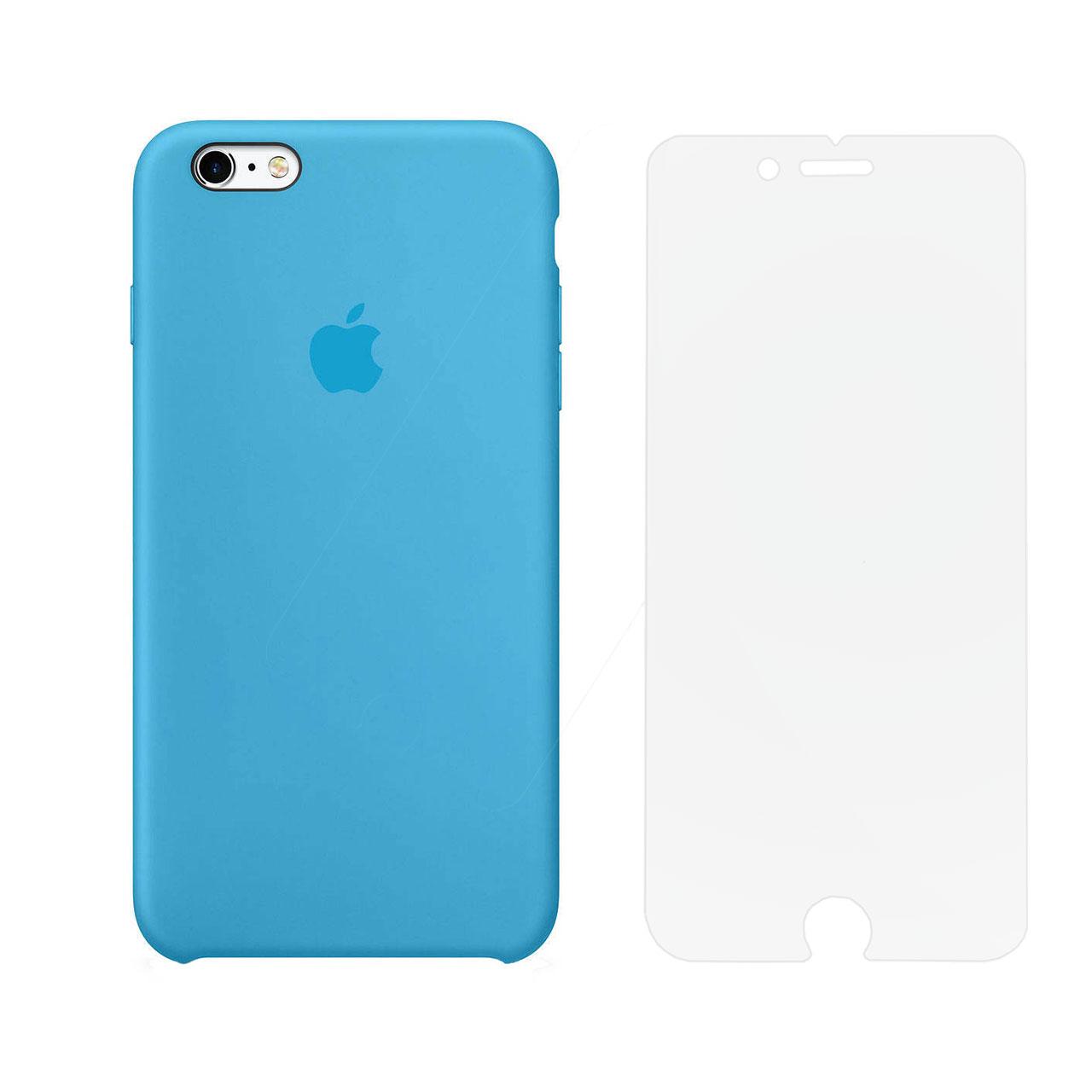 کاور مدل SLCN مناسب برای گوشی موبایل اپل iPhone 6 Plus / 6s Plus به همراه محافظ صفحه نمایش