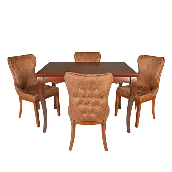 میز و صندلی ناهار خوری چوبکو مدل 672
