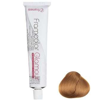 رنگ مو فرامسی مدل glamour شماره 8.46  حجم 100 میلی لیتر رنگ بلوند کهربای روشن