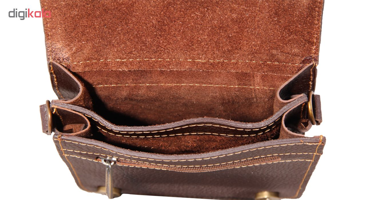 کیف دوشی زنانه شهر چرم مدل SV108