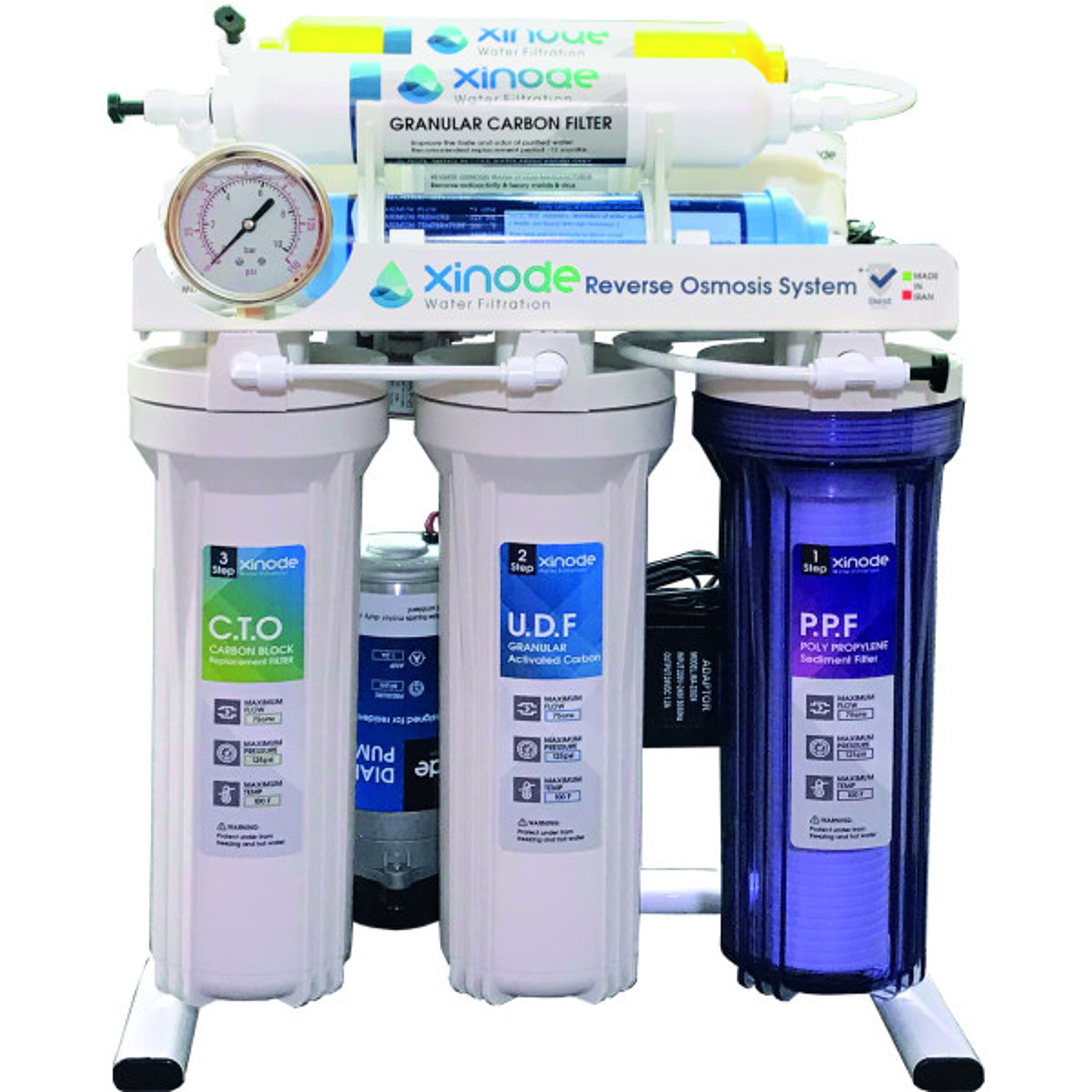 دستگاه تصفیه کننده آب زینود مدل AXT-405HB