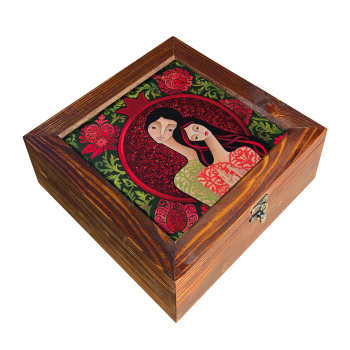 جعبه چای کیسه ای مدل دختر یلدا