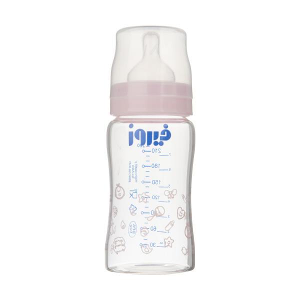 شیشه شیر فیروز مدل Pyrex ظرفیت 220 میلی لیتر