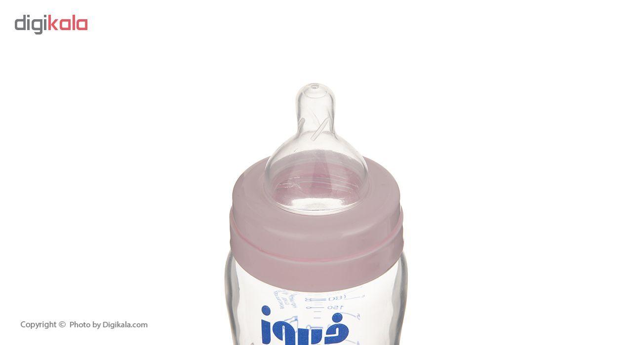 شیشه شیر فیروز مدل Pyrex ظرفیت 220 میلی لیتر main 1 3