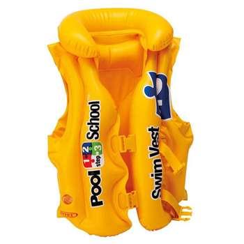 جلیقه نجات اینتکس مدل Pool School 2 سایز M